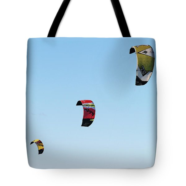 Three Kites Tote Bag