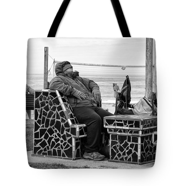 Tote Bag featuring the photograph Three Laguna Lifestyles by Vinnie Oakes