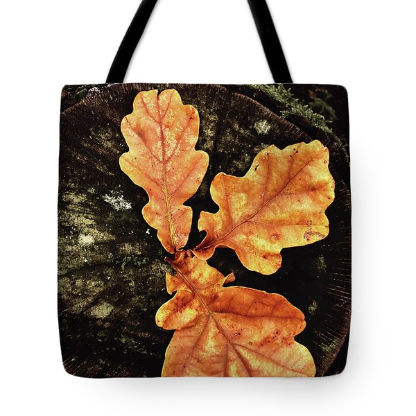 Three Leaves Tote Bag