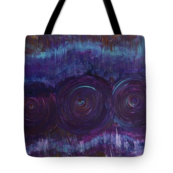 Three Mandalas Tote Bag