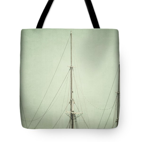 Three Masts Tote Bag by Lisa Russo