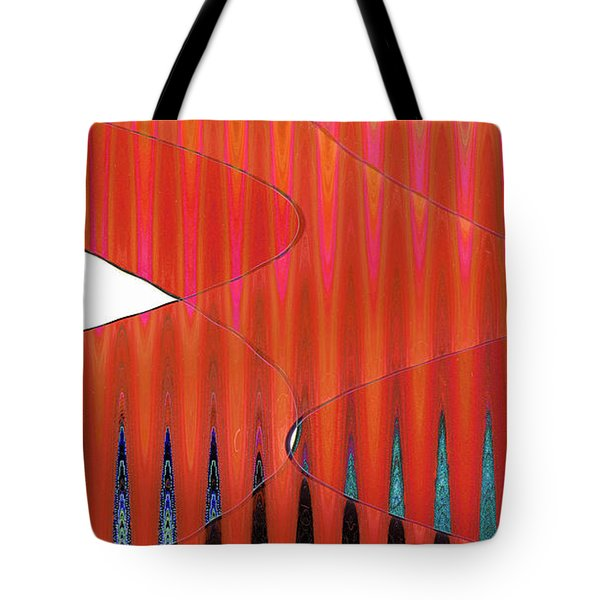 Three Merge Abstract Tote Bag