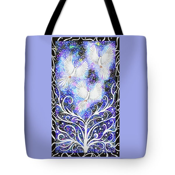 Three Messengers Tote Bag