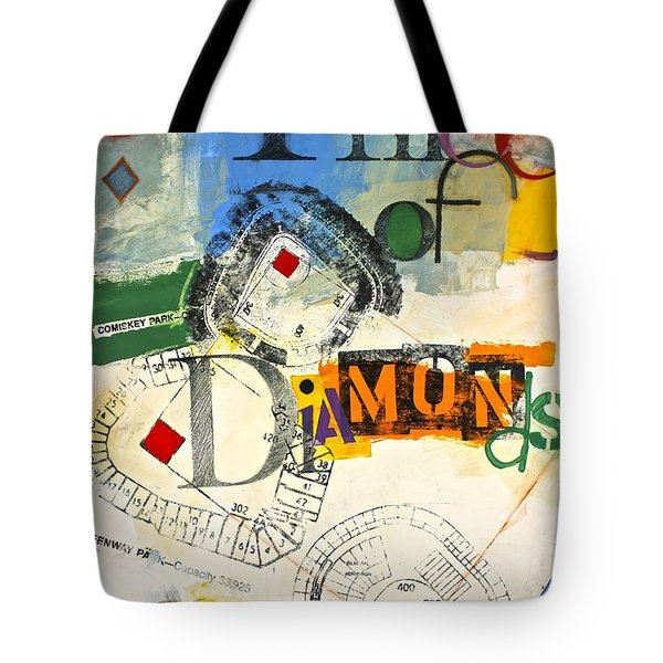 Three Of Diamonds 31-52 Tote Bag by Cliff Spohn