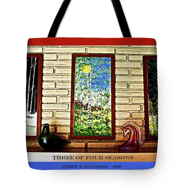 Three Of Four Seasons Tote Bag