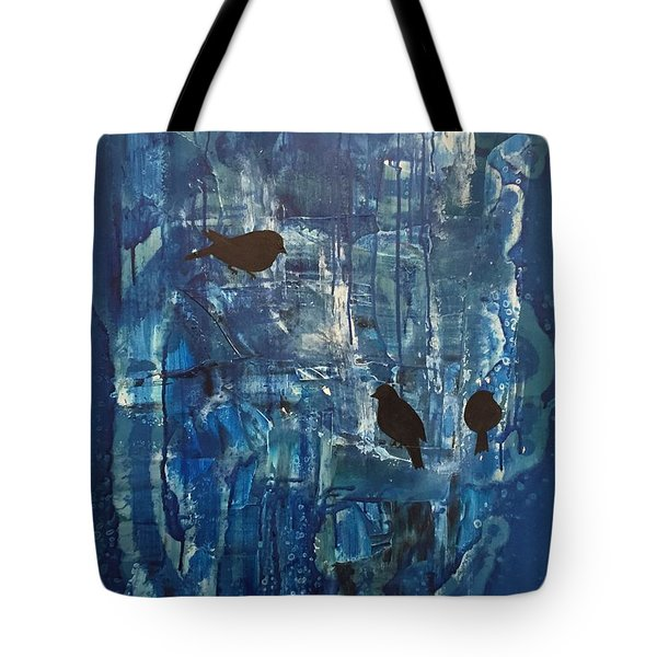 Three Of Us Tote Bag