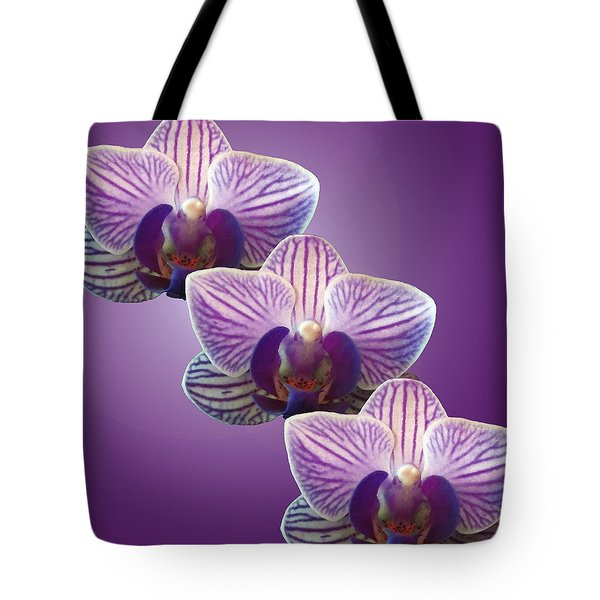 Three Orchids Tote Bag