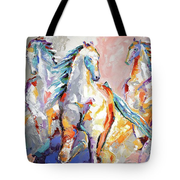 Three Out Of The Mist Tote Bag