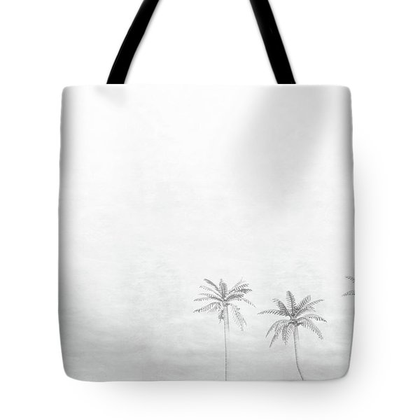 Three Palms Tote Bag