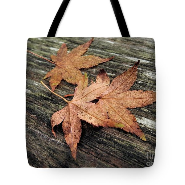 Tote Bag featuring the photograph Three by Peggy Hughes
