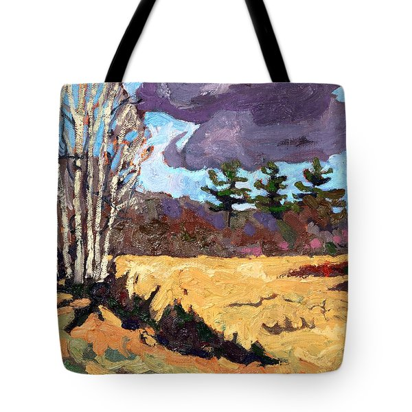 Three Tote Bag by Phil Chadwick