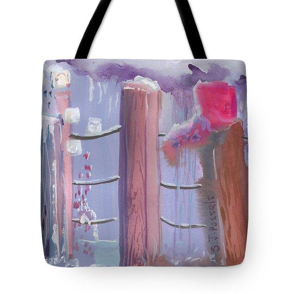Three Pillars Tote Bag