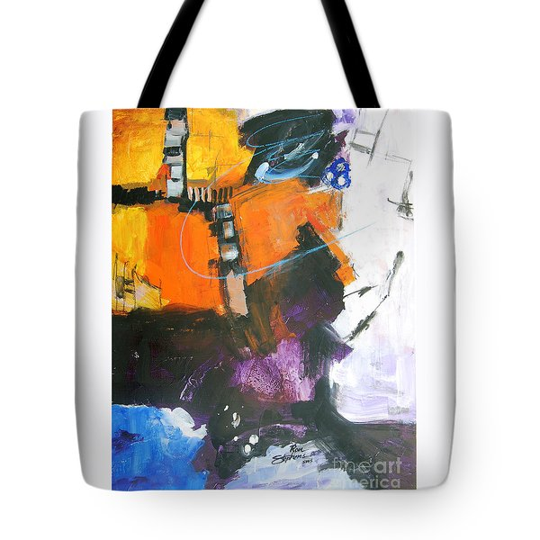 Three Ring Circus Tote Bag by Ron Stephens