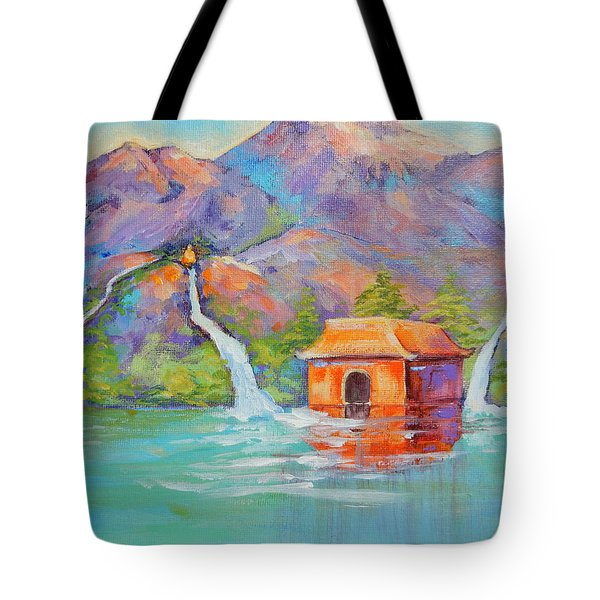 Three Sacred Waters Tote Bag