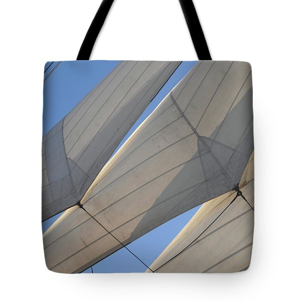 Three Sails Tote Bag