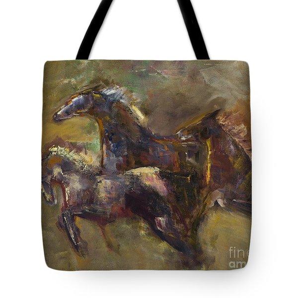 Three Set Free Tote Bag by Frances Marino