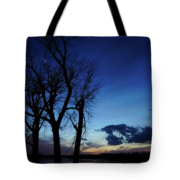 Tote Bag featuring the photograph Three Sisters by Cricket Hackmann