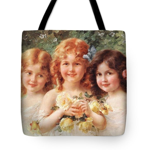 Three Sisters Tote Bag by Emile Vernon