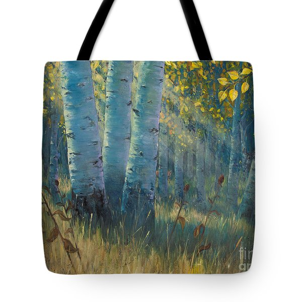 Three Sisters - Spirit Of The Forest Tote Bag by Rob Corsetti