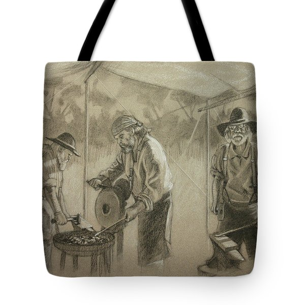 Three Smiths Tote Bag