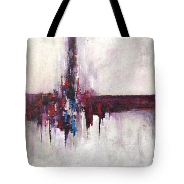 Three Square #2 Tote Bag by Suzzanna Frank