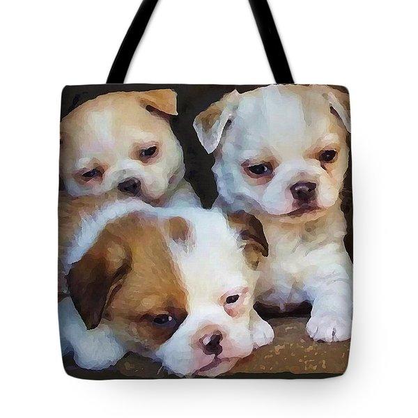 Three Sweeties Tote Bag