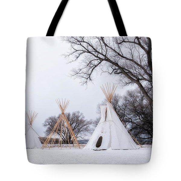 Three Tipis Tote Bag