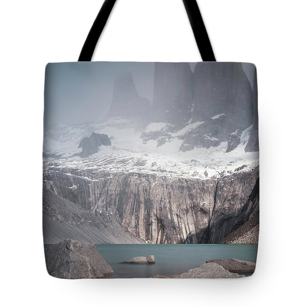 Three Towers, Chile Tote Bag
