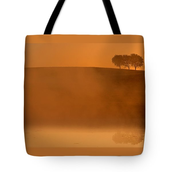 Three Trees  Tote Bag by Don Spenner