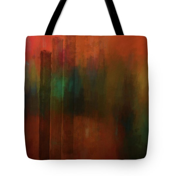 Three Trees Tote Bag by Kandy Hurley