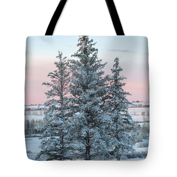 Three Trees Tote Bag by Ronda Kimbrow