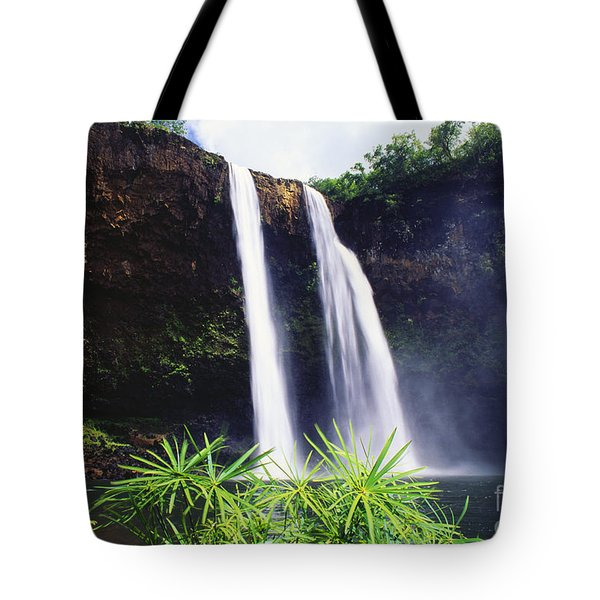 Three Waterfalls Tote Bag by Peter French - Printscapes