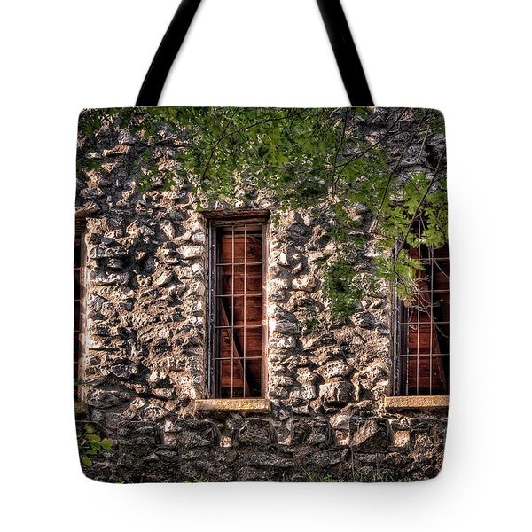 Three Windows Tote Bag by Tamyra Ayles