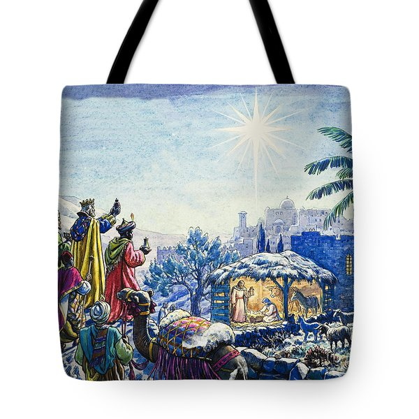 Three Wise Men Tote Bag by Unknown