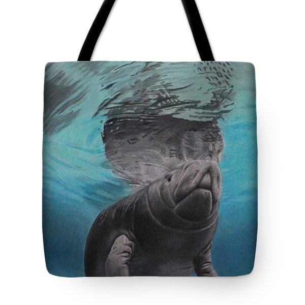 Three Worlds II Tote Bag by Jennifer Watson