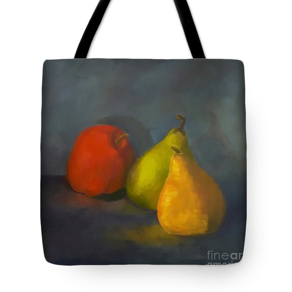 Three's A Crowd Tote Bag by Genevieve Brown