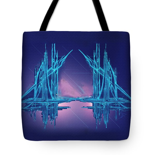Threshold Tote Bag by Don Quackenbush