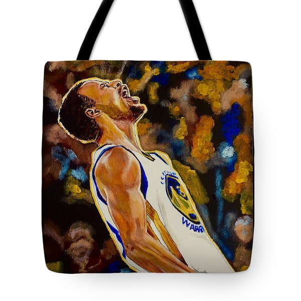 Thrill Of Victory Tote Bag