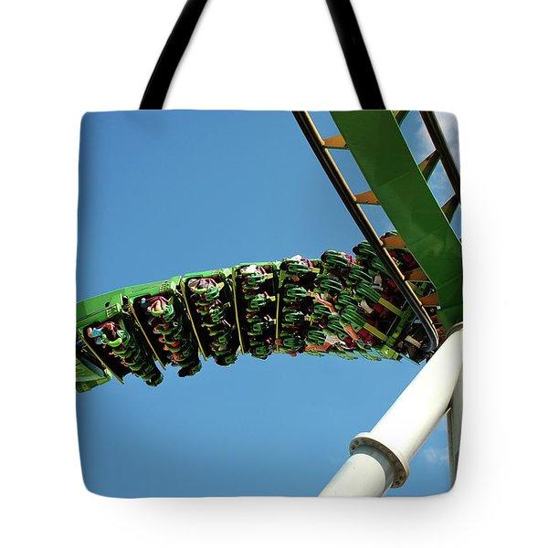 Thrill Ride Tote Bag