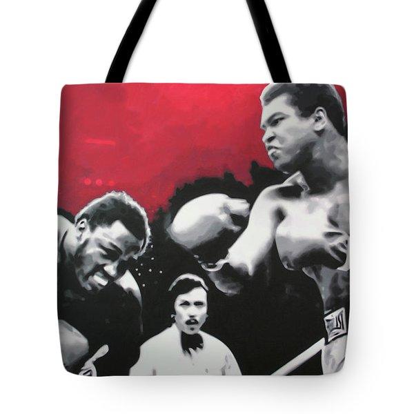 Thrilla In Manila Tote Bag