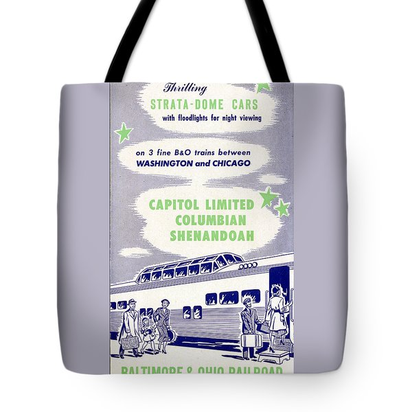 Thrilling Strata-dome Cars Tote Bag