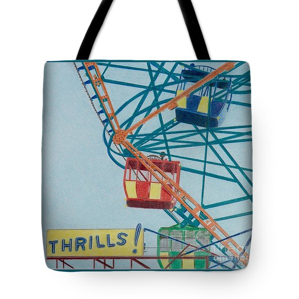 Thrills Tote Bag