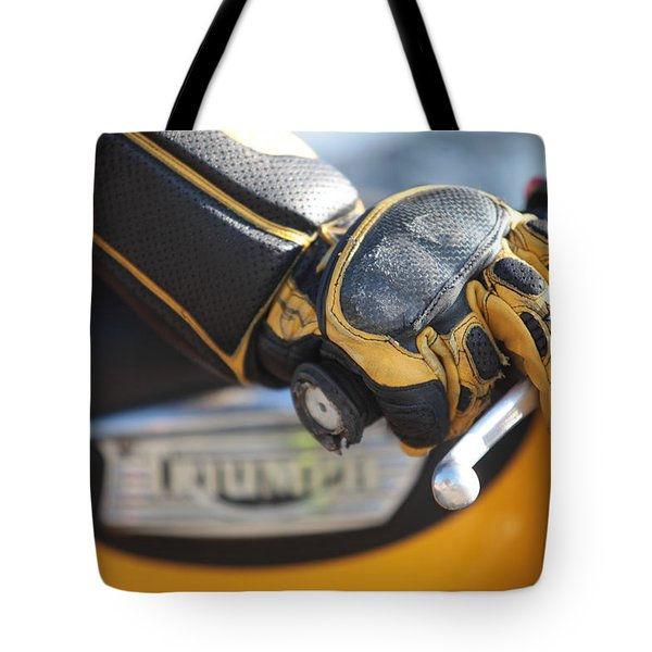 Throttle Hand Tote Bag