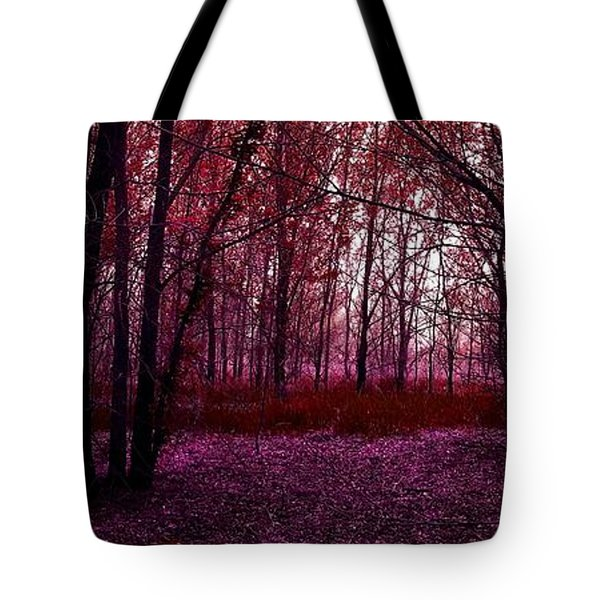 Through A Forest Tote Bag