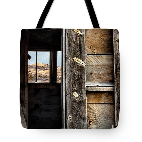Through Cabin Window Tote Bag
