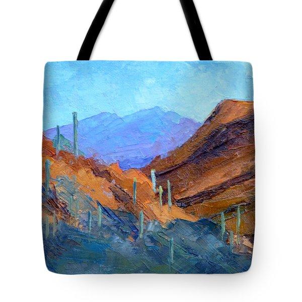 Through Gates Pass Tote Bag