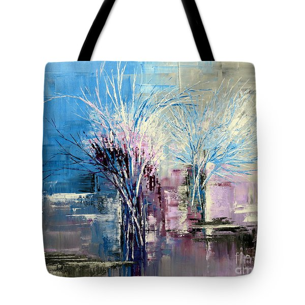Through Morning's Light Tote Bag