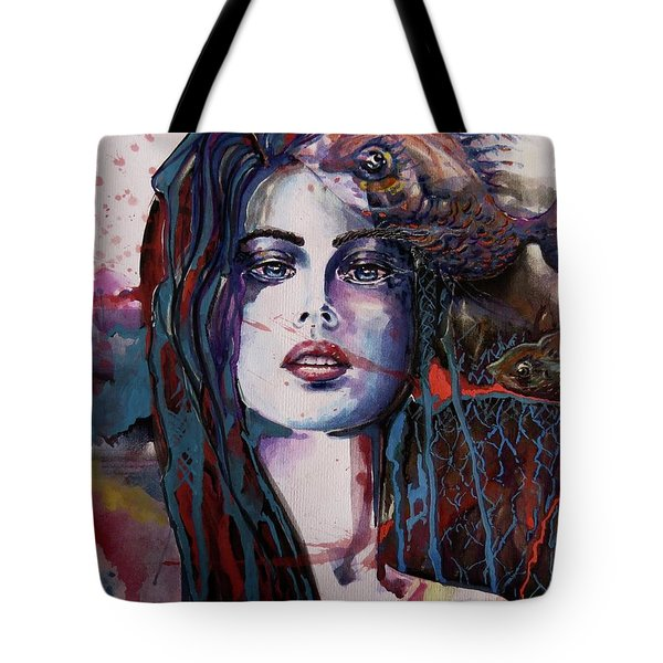 Through My Mind Tote Bag