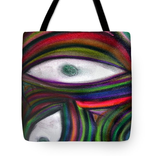 Through Other's Eyes Tote Bag by Dawn Hough Sebaugh