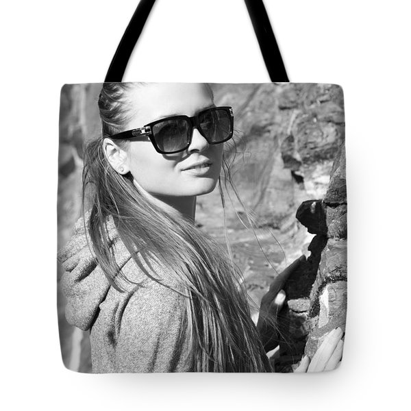 Through Sunglasses Tote Bag